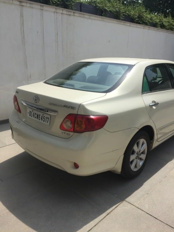 Toyota Corolla Altis GL MT