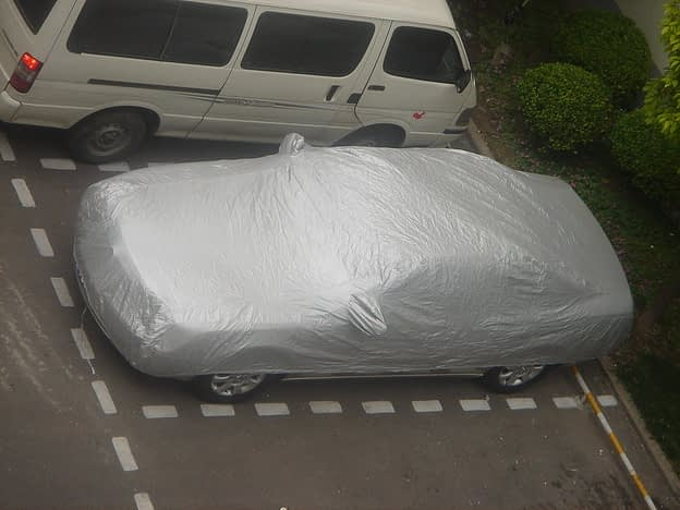 Car Maintenance in Parking