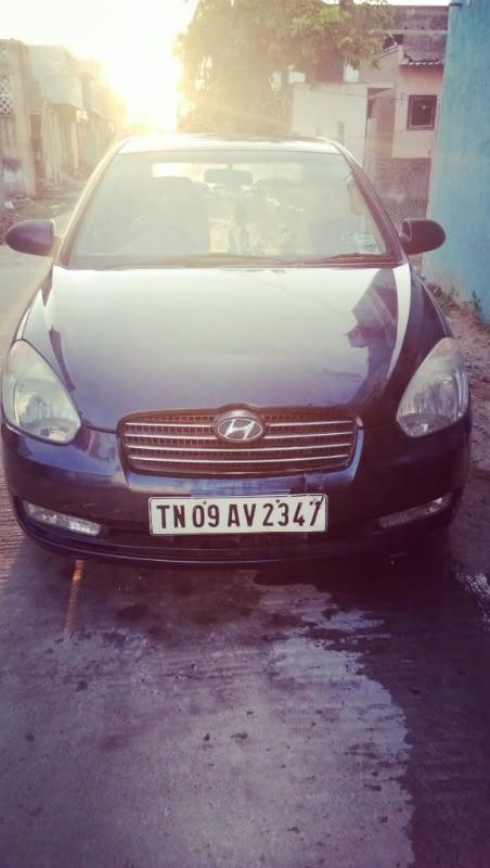 Hyundai Verna crdi sx abs